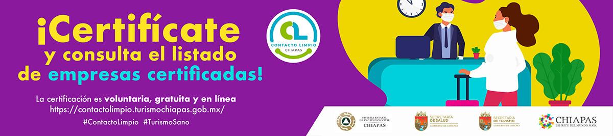 Certificación Contacto Limpio Chiapas