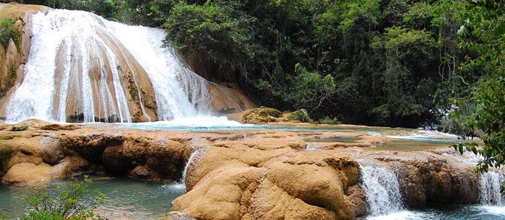 Worksheet. Turismo en Chiapas  Cascadas de Agua Azul